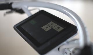 Tablet simplifies bike hire
