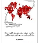 How mobile operators can reduce cost for mobile masts and improve mast regulation