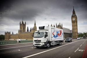 JJ Food Service deliver to customers across the UK