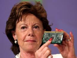 EU Vice President Neelie Kroes