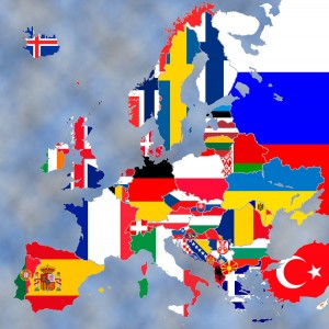 Europe_map___Flags_by_cosgabriel