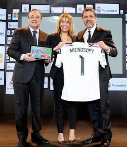 Microsoft and Real Madrid launch partnership