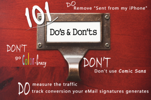 Email Dos and Don'ts
