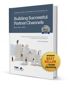 A 3d image of the book Building Successful Partner Channels by Hans Peter Bech
