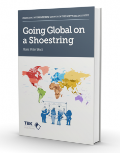 "<p>""Going Global on a Shoestring"" is the title of the book that I will release in the 1st half of 2018 (it was originally planned for Q4 2017, but plans have changed). I am writing the book for software companies that have a value proposition which is attractive to customers all over the world and […]</p> <p>The post <a rel=""nofollow"" href=""https://tbkconsult.com/growth-global-expansion-must-rather-option/"">Growth Through Global Expansion – a Must Rather than an Option</a> appeared first on <a rel=""nofollow"" href=""https://tbkconsult.com/"">TBK Consult</a>.</p>"